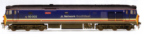 Class 50 Co-Co Diesel Electric Locomotive - Superb (Weathered)