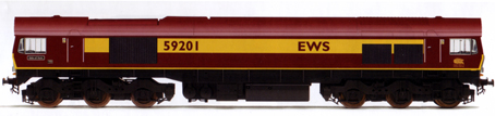 Class 59 Diesel Electric Locomotive - Vale Of York