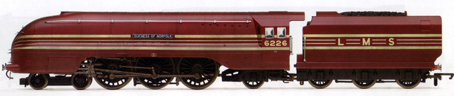 Coronation Class Locomotive - Duchess Of Norfolk