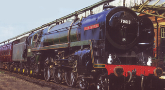 Britannia Class 7MT Locomotive - Oliver Cromwell - National Railway Museum Collection - Special Edition