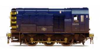 Class 08 Diesel Electric Shunter (Weathered)