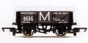 Ministry Of Munitions 4 Plank Wagon