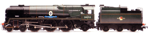 Rebuilt Battle Of Britain Class Locomotive - Sir Keith Park
