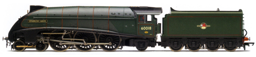 Class A4 Locomotive - Sparrow Hawk