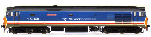 Class 50 Co-Co Diesel Electric Locomotive - Dreadnought