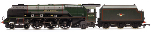 Princess Coronation Class Locomotive - City Of Sheffield (DCC Locomotive with Sound)