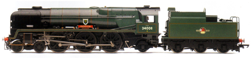 Rebuilt West Country Class Locomotive - Padstow
