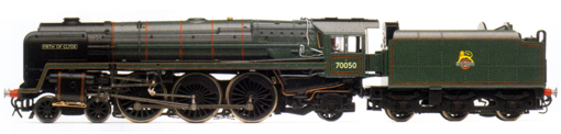 Britannia Class 7P6F Locomotive - Firth Of Clyde