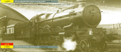 Castle Class Locomotive - Tintagel