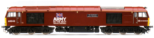Class 60 Diesel Electric Locomotive - The Territorial Army Centenary - DB Schenker