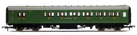 S.R. Maunsell 6 Compartment 3rd Class Brake Coach