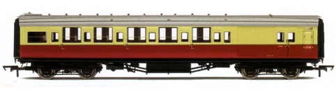B.R. (Ex S.R.) Maunsell 6 Compartment 3rd Class Brake Coach