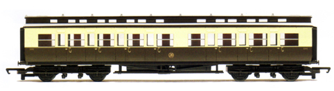 G.W.R. Clerestory Composite Coach