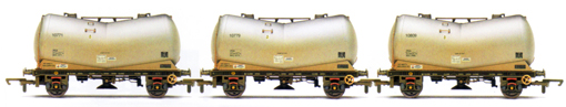 Alcan PCA Vee Tank Wagons - Three Wagon Pack (Weathered)