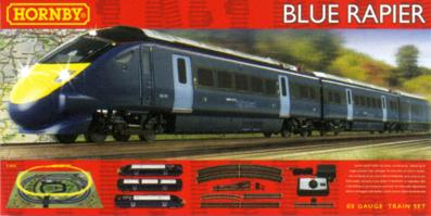 4 Axles Hornby X6253 Railroad Blue Rapier Class 395 Coach Wheel Set