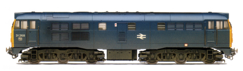 Class 31 Diesel Locomotive (Weathered)