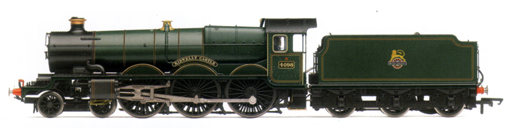 Castle Class Locomotive - Kidwelly Castle (DCC Locomotive with Sound)