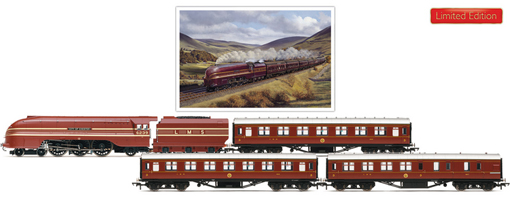 Days Of Red And Gold Train Pack (Princess Coronation Class - City Of Chester)  - Barry J. Freeman Collection
