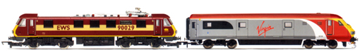 Virgin Charter Relief Train - EWS Class 90 & MK3 DVT Train Pack (Class 67 - The Institution Of Civil Engineers)