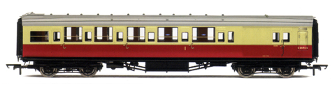 B.R. (Ex S.R.) Maunsell Brake Composite Coach