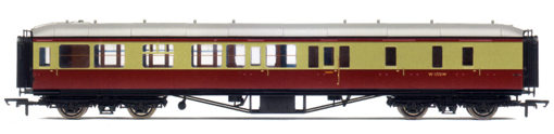 B.R. Hawksworth (Pre 1956) Brake 3rd Coach