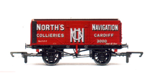 Norths Navigation Collieries 7 Plank Wagon