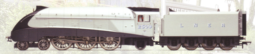 Class A4 Locomotive - Silver Link - 75th Anniversary
