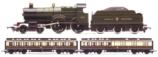 London 1908 Train Pack (County Class - County Of Radnor)