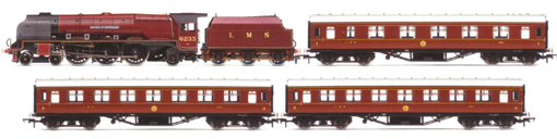 Duchess At Carlisle Train Pack (Duchess Class - Duchess Of Sutherland)  - Barry J. Freeman Collection
