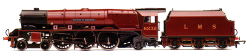 Duchess Class Locomotive - Duchess Of Montrose (DCC Locomotive with Sound)