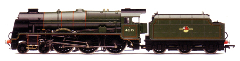 Royal Scot Class Locomotive - Scots Guardsman