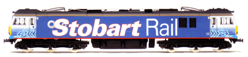 Stobart Rail Class 92 Co-Co Electric Locomotive - Bart the Engine
