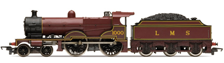 R3276 4-4-0 LMS Class 4P Compound with Fowler Tender New 00 Hornby Railroad