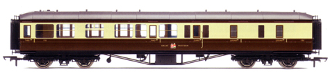 B.R. (G.W.R.) Hawksworth Brake 3rd Class Coach