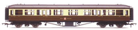 B.R. (G.W.R.) Hawksworth Composite Coach