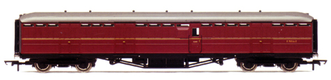 B.R. (Ex L.N.E.R.) 61ft 6in Full Brake Coach