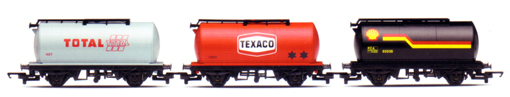 Total, Texaco and Shell Tank Wagons - Fuel Tanker Pack