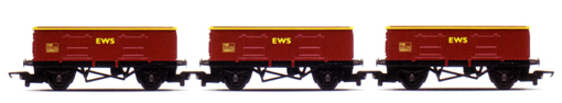 EWS Open Wagons - Coal Train Pack