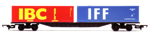 Container Bogie Wagon with 2 x 30ft Containers - IBC and IFF