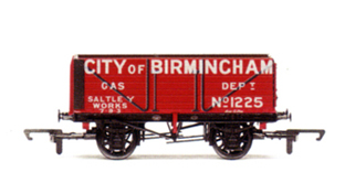 City Of Birmingham Gas Department 8 Plank Wagon