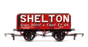 Shelton Iron Steel & Coal 7 Plank Wagon