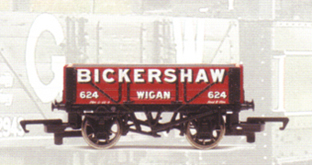 Bickershaw 4 Plank Wagon