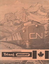 Tri-ang Railways Canadian 1966 Catalogue Insert
