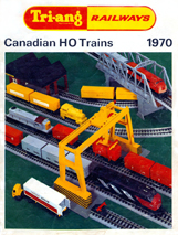 Tri-ang Railways Canadian HO Trains 1970