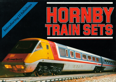 Hornby Railways Collector Guide Model Note 1981 Train Sets Poster Picture